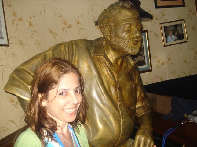 """Turista """"paga mico"""" mesmo, não tem jeito. Eu e Hemingway, pode?"""