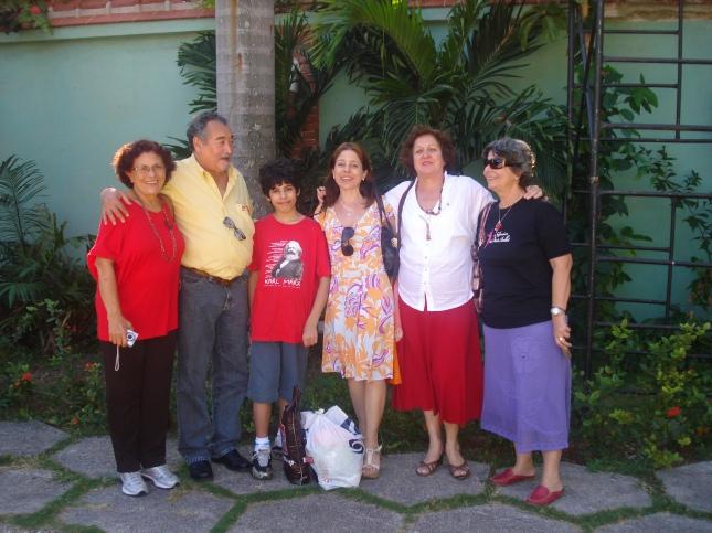 Heloisa,Dilcéia, eu,João, Alanir e esposa