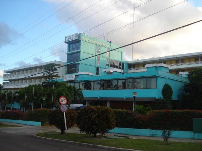 Este foi o hotel que ficamos em Havana, hotel Kolly