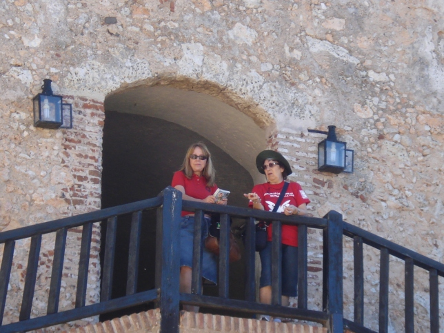 Teresa (PT Londres) e Rosalba (PCdoB)