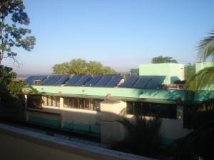 paines solares no hotel em Sancti spiritus