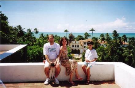 Eu Carlos e João em Olinda - 2006