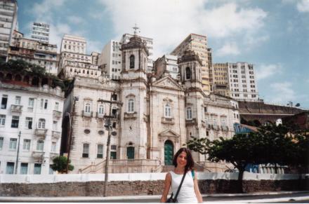 Igreja da Conceição da Praia, na cidade baixa